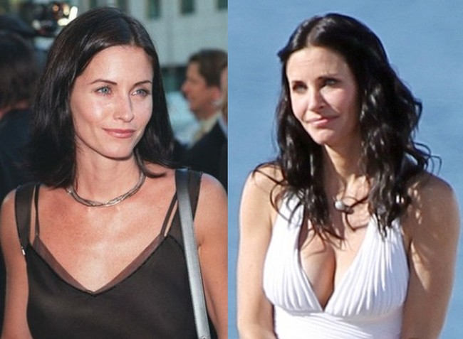 Courteney Cox Boobs Job